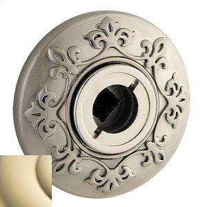 Lifetime Polished Brass R011 Estate Rose Product Image
