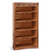 """Sedona 60""""H Bookcase"""
