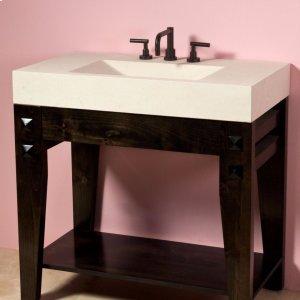 Losa Vanity Limestone Product Image