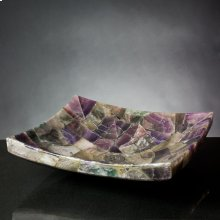 Zen Vessel Purple Onyx Mosaic