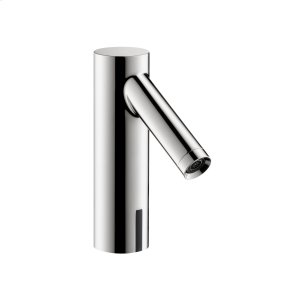 Chrome Electronic basin mixer 90 with temperature pre-adjustment battery-operated Product Image