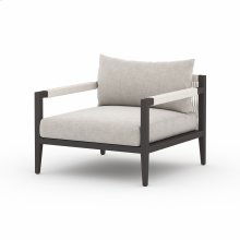 Stone Grey Cover Sherwood Outdoor Chair, Bronze