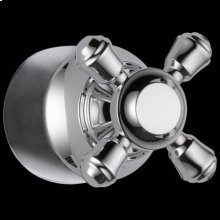 Chrome Metal Cross Handle Kit - Transfer Valve