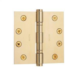 Lifetime Polished Brass Ball Bearing Hinge Product Image