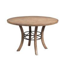Charleston Wood Round Dining Table
