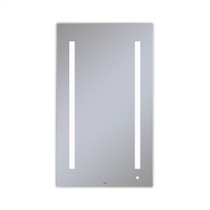 """Aio 23-1/8"""" X 39-1/4"""" X 1-1/2"""" Lighted Mirror With Lum Lighting At 4000 Kelvin Temperature (cool Light), Dimmable and Usb Charging Ports Product Image"""