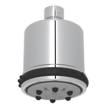 "Polished Chrome 3"" Quintek Multi-Function Showerhead"