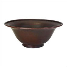 Small Footed Bowl Vessel