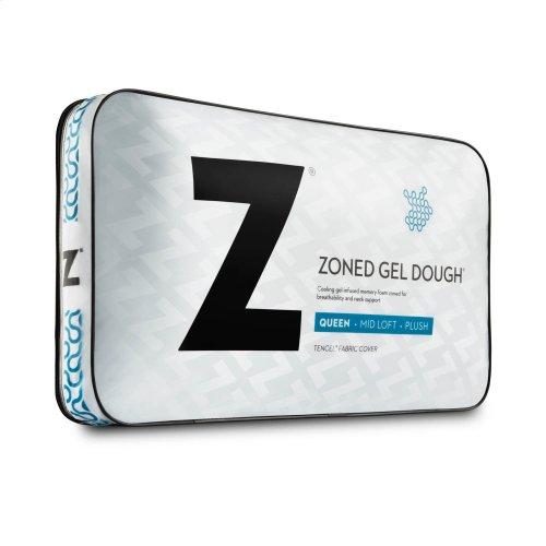 Zoned Gel Dough® King Mid Loft
