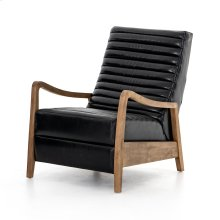 Dakota Black Cover Chance Recliner