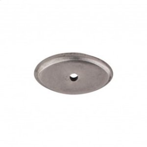Aspen Oval Backplate 1 1/2 Inch - Silicon Bronze Light Product Image