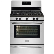 """Frigidaire Gallery 30"""" Freestanding Gas Range (This is a Stock Photo, actual unit (s) appearance may contain cosmetic blemishes. Please call store if you would like actual pictures). This unit carries our 6 month warranty, MANUFACTURER WARRANTY and REBATE NOT VALID with this item. ISI 34700"""