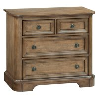 RGB 4-Drawer Stonewood Nightstand Product Image