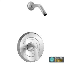 Fluent Shower Only Trim with Pressure Balance Cartridge Less Showerhead  American Standard - Polished Chrome