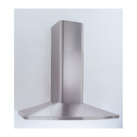 "36"" Stainless Steel Chimney Hood, 370 CFM Internal Blower"
