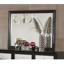 Barzini Black Dresser Mirror
