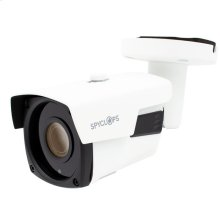 Bullet Camera Auto Focus 5X Zoom POE IP 5MP - White