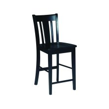 San Remo Stool in Black
