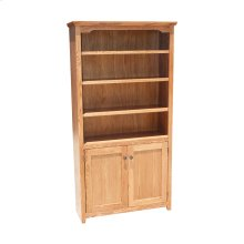 """Shaker Alder 24"""" & 36"""" 2-Door Bookcase"""