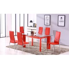 Star 7PC Red Table