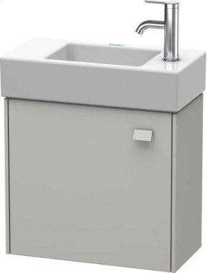 Vanity Unit Wall-mounted, For Vero Air # 072450concrete Gray Matte (decor) Product Image