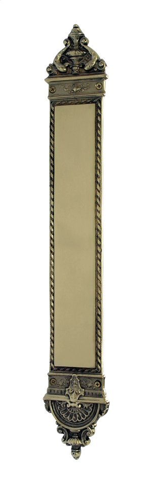 Nostalgic Warehouse - New Orleans Pushplate in Polished Brass Product Image