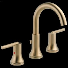 Champagne Bronze Two Handle Widespread Bathroom Faucet