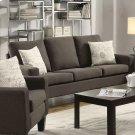 Bachman Transitional Grey Sofa Product Image