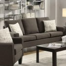 Bachman Transitional Grey Sofa Product Image