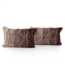 """16x24"""" Size Currant Ombre Pillow, Set of 2"""