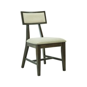 Soho Side Chair in Pewter