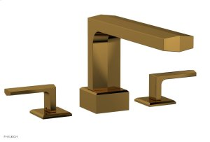 DIAMA Deck Tub Set - Lever Handles 184-41 - French Brass Product Image