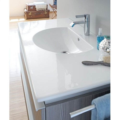 Darling New Furniture Washbasin 3 Faucet Holes Punched