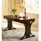 Red Brown Transitional Writing Desk Product Image