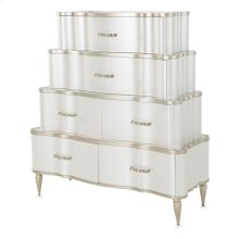 Tiered 6-drawer Chest (2 Pc)