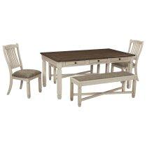 Bolanburg - Antique White 5 Piece Dining Room Set Product Image