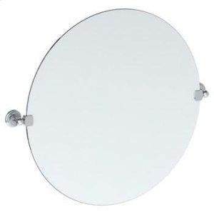 "Wall Mounted 24"" Round Pivot Mirror Product Image"