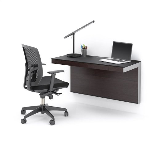 Wall Desk 6004 in Espresso