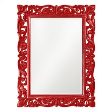 Chateau Mirror - Glossy Red