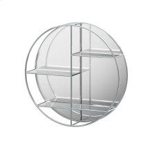 Mirror Plus - Round in Chrome