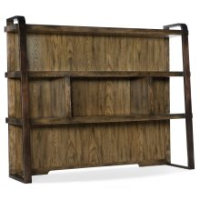 Home Office Crafted Computer Credenza Hutch