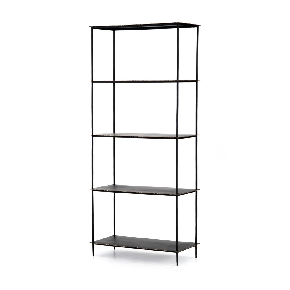 Trula Bookshelf-rubbed Black