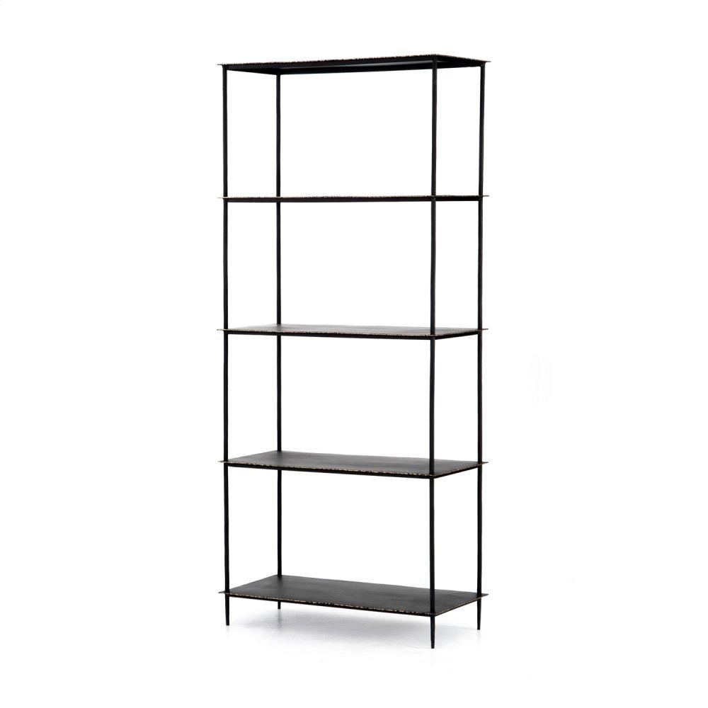 Trula Bookshelf-rubbed Black
