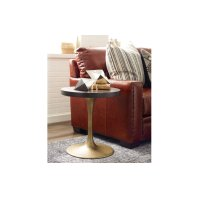 Austin by Rachael Ray Round Pedestal Chairside Table Product Image