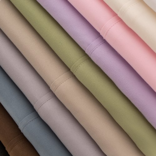 Brushed Microfiber Short Queen Chocolate