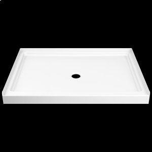 """White ProCrylic 48"""" x 34"""" Shower Base Product Image"""