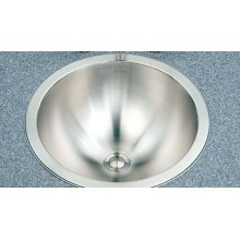 Topmount Lavatory Conical Bowl crt-1620
