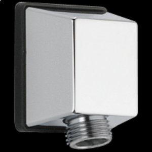 Chrome Square Wall Elbow for Hand Shower Product Image