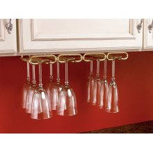 "Rev-A-Shelf - 3450-11BR - 11"" Quad Stemware Holder"