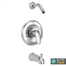 Colony PRO Bath/Shower Trim with Pressure Balance Cartridge Less Shower Head  American Standard - Polished Chrome